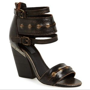 Mia Limited Edition Monterey Leather Sandals Heels